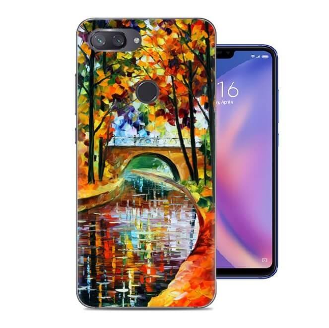 Coque Silicone Xiaomi MI 8 Lite Peinture