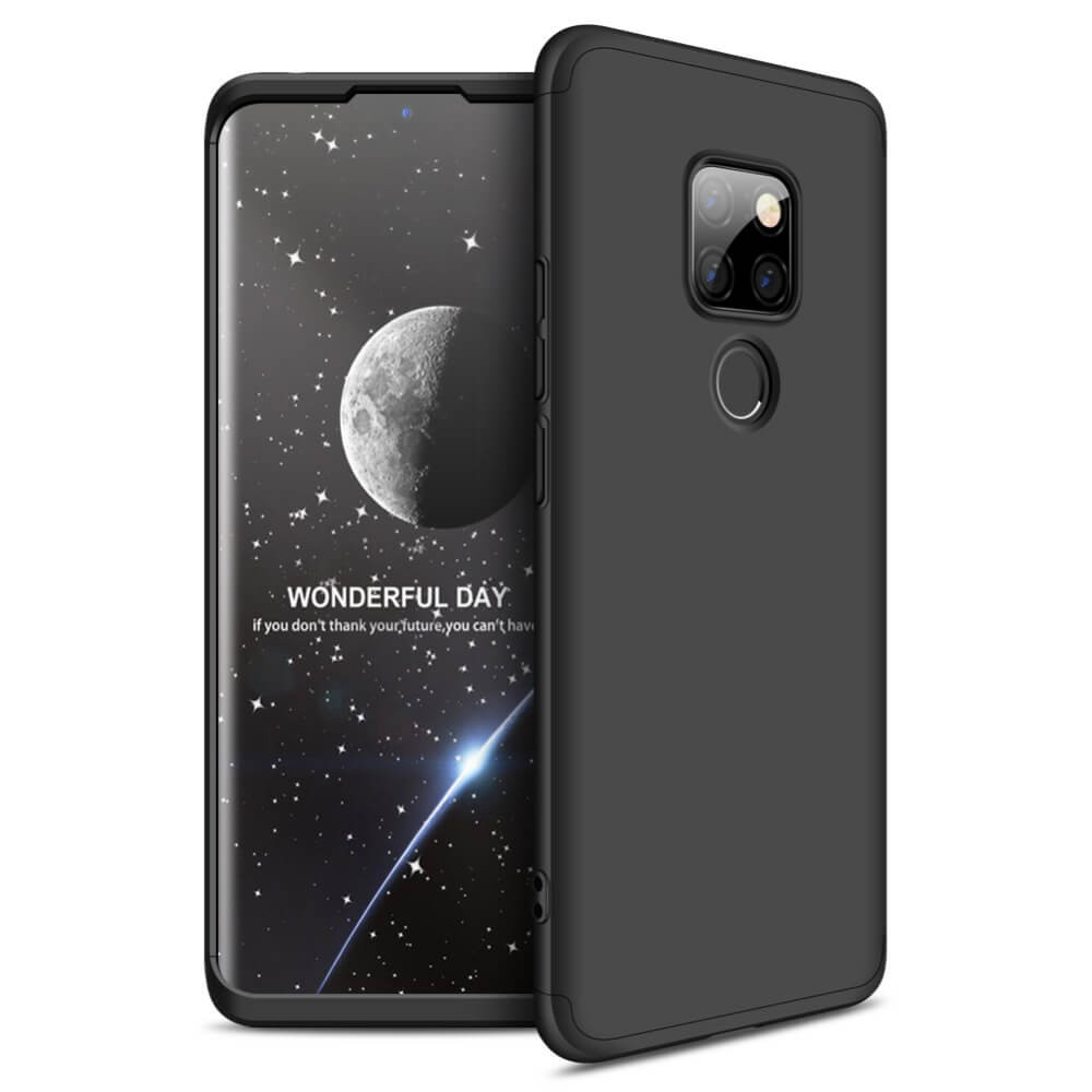 Coque 360 Huawei Mate 20 Noir.