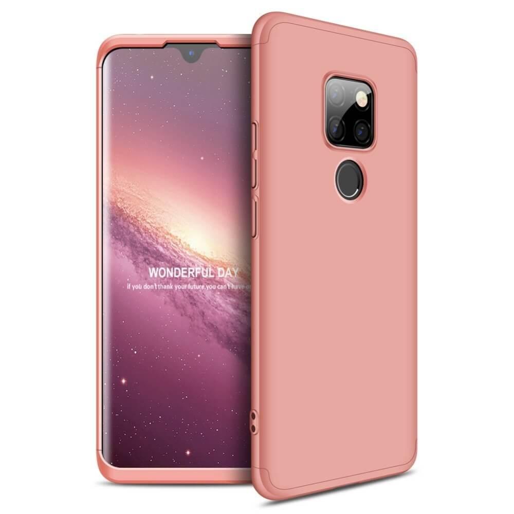 Coque 360 Huawei Mate 20 Rose.