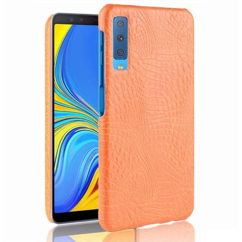 coque samsung a70 orange