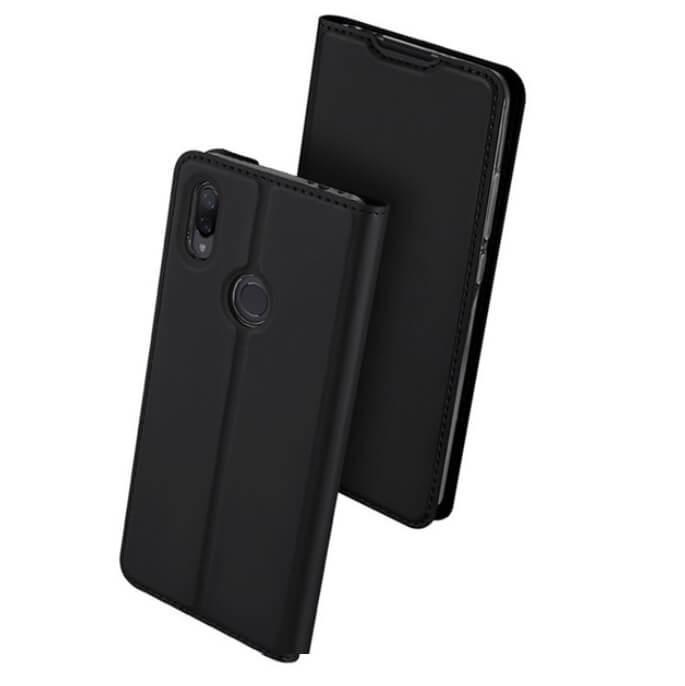 Étuis Xiaomi Redmi Note 7 Cuir DUXi noir
