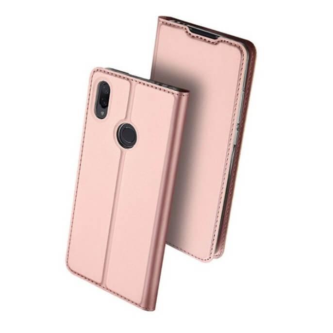 Étuis Xiaomi Redmi Note 7 Cuir DUXi rose