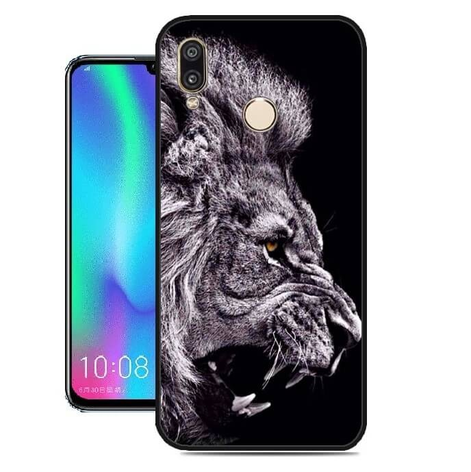 Coque Silicone Huawei P Smart 2019 Lion