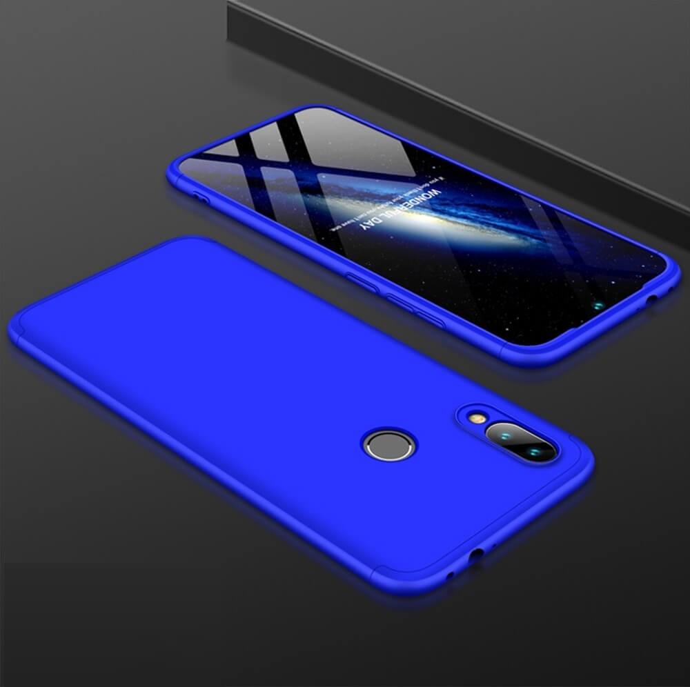 Coque 360 Mi Play Bleue.
