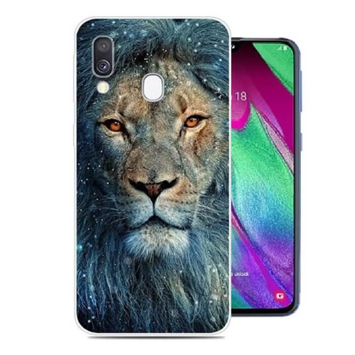 coque samsung galaxy a20e lion