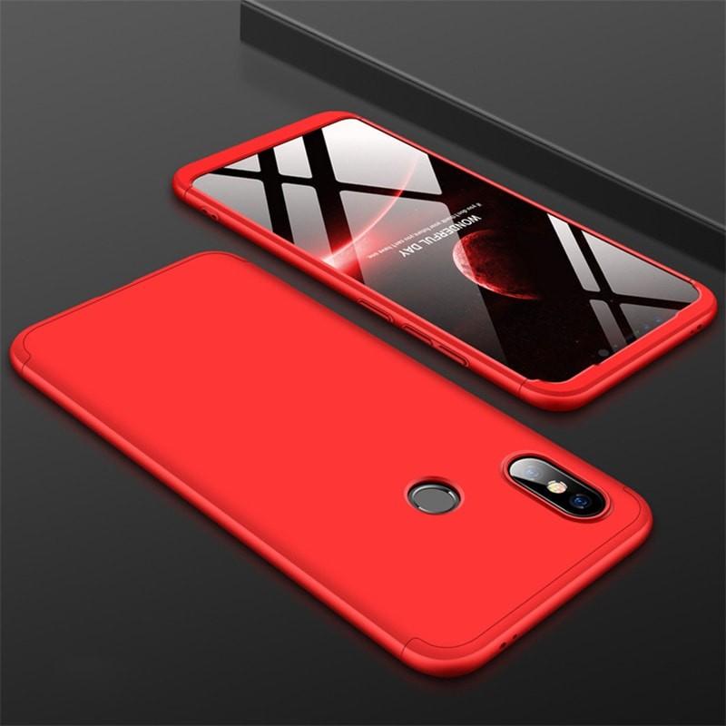 Coque 360 Xiaomi MI 8 Rouge.