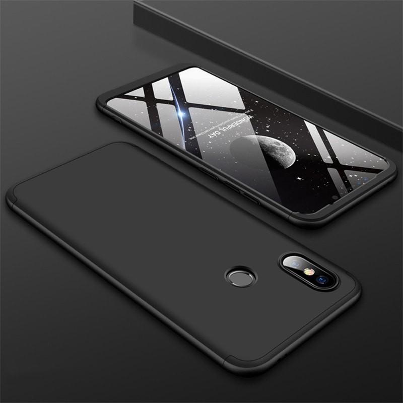 Coque 360 Xiaomi MI 8 Noir.